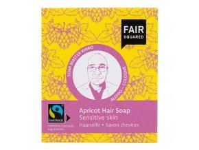 Šampon tuhý na mytí vlasů – meruňkový pro citlivou pokožku hlavy 2x80g FAIR SQUARED