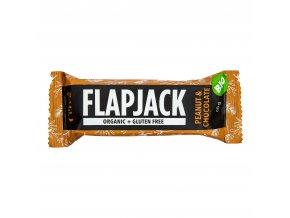 Flapjack bezlepkový arašídy s čokoládou 60 g BIO CEREA