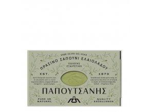 PAPOUTSANIS Tradiční Olivové mýdlo Zelené 125 g