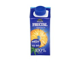FRUCTAL Fructal superior ananas 100% 0,2l