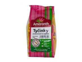Amaranth life s.r.o. Tyčinky amarantové sýr 100g Amaranth