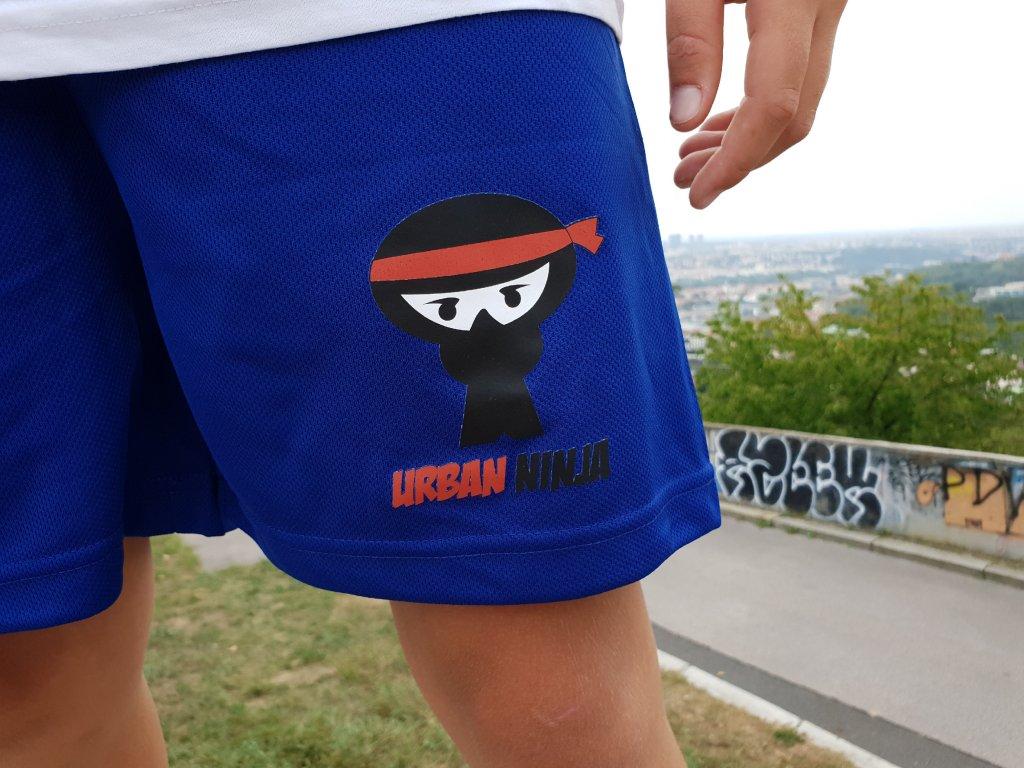 Parkourové kraťasy logo Urban Ninja