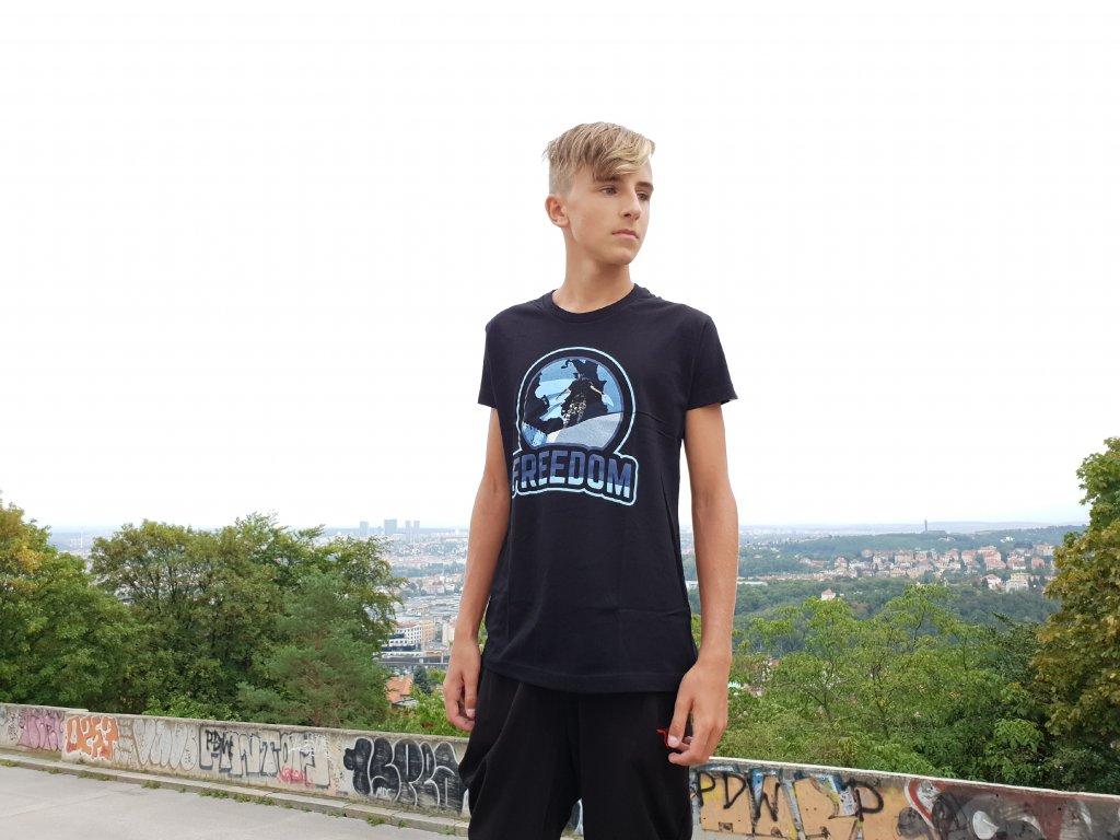 Parkourové triko Freedom