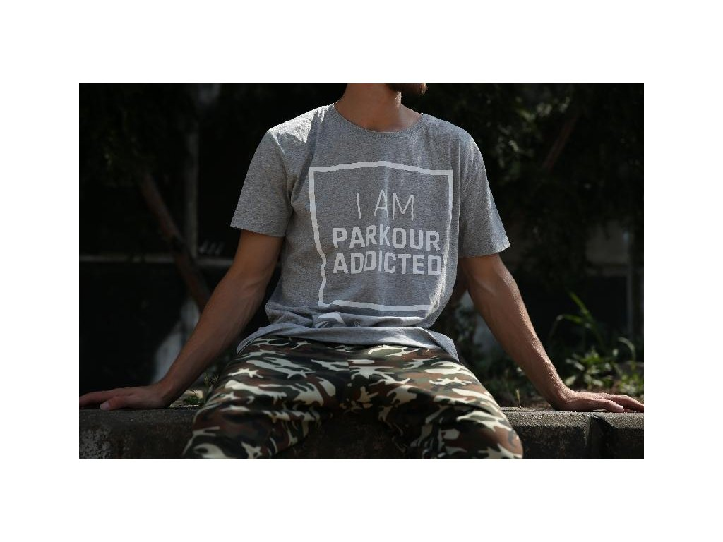 Parkourové triko Parkour Addicted