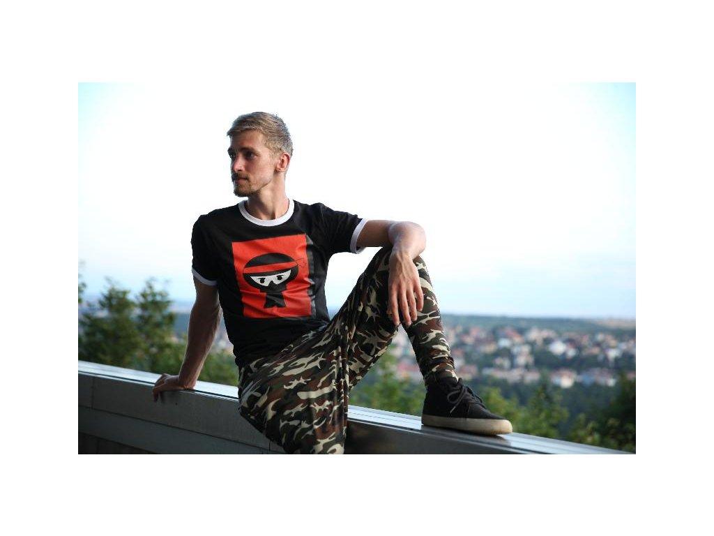 Parkourové triko Urban Ninja Massive Logo