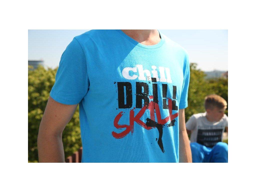 Parkourové triko Zerker Chill Drill Skill