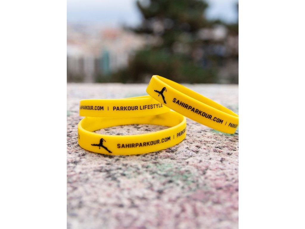 Náramek Sahir Parkour žlutý