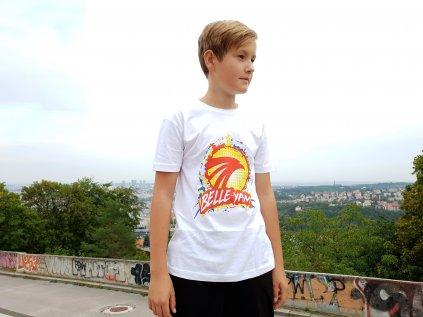 Parkourové triko Belle YAM ! bílé