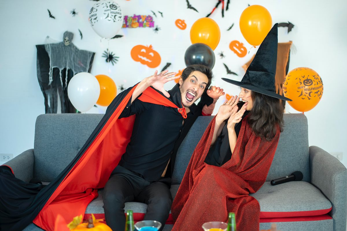 Halloween 31.10., co je to za svátek a jak připravit párty?