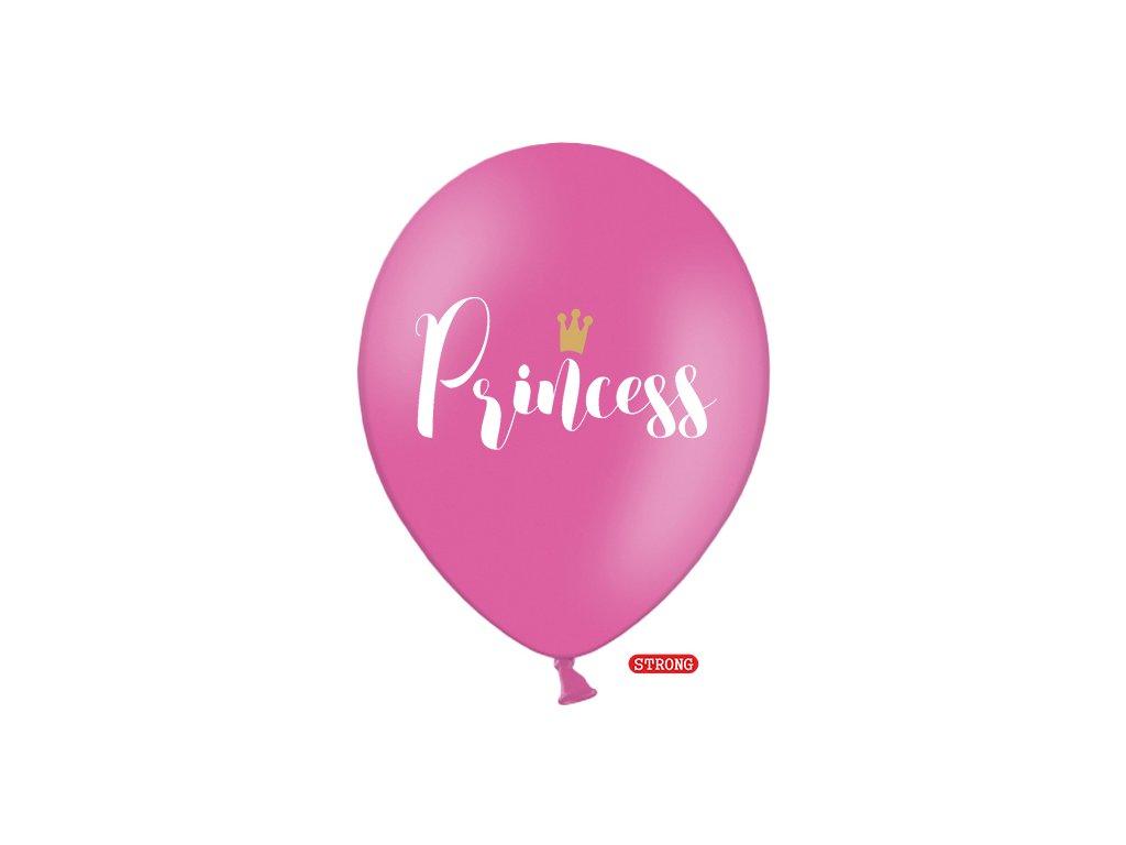 balonek ruzovy princess strong 30cm SB14P 234 006 01