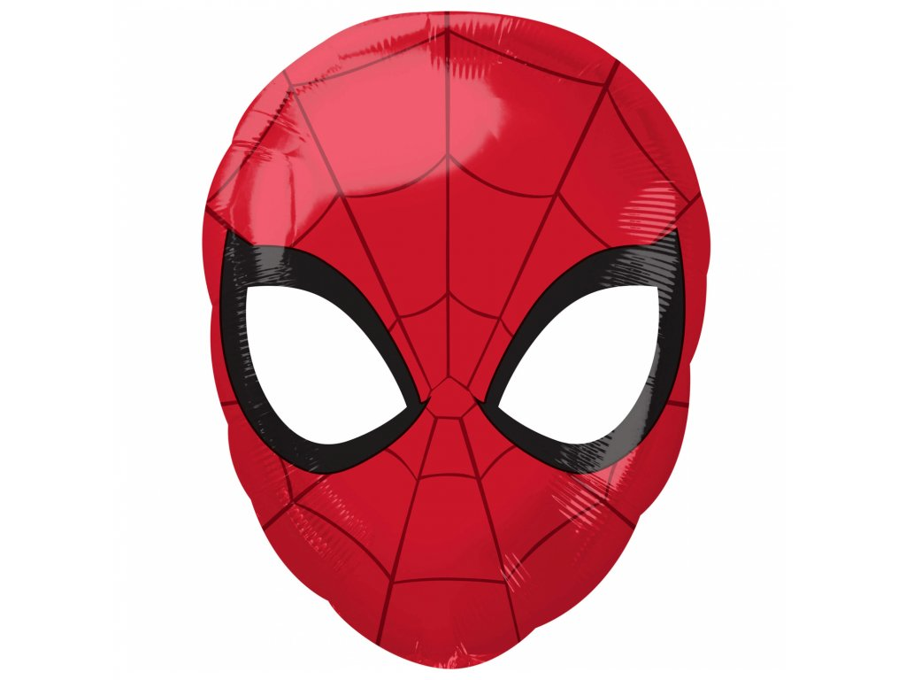 foliovy balonek Spider Man hlava 30x43cm 3466901