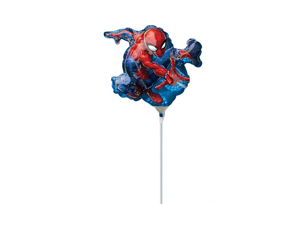 foliovy balonek Spider Man 17x25cm 3466602