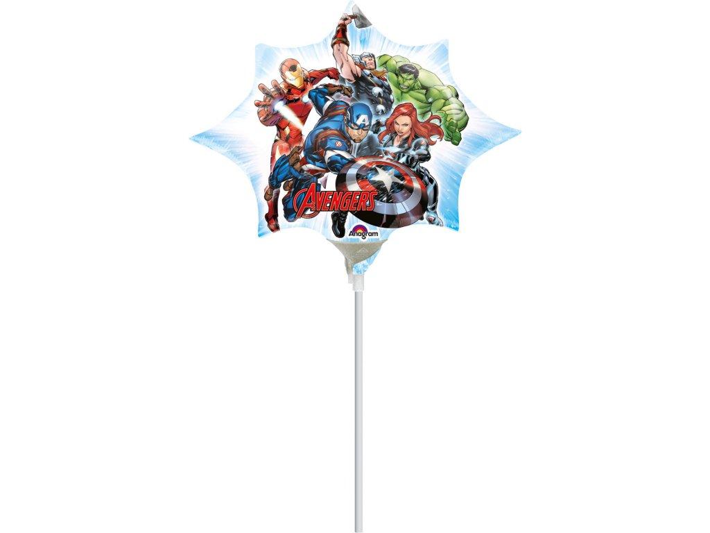 foliovy balonek Avengers 25x27cm 3465802