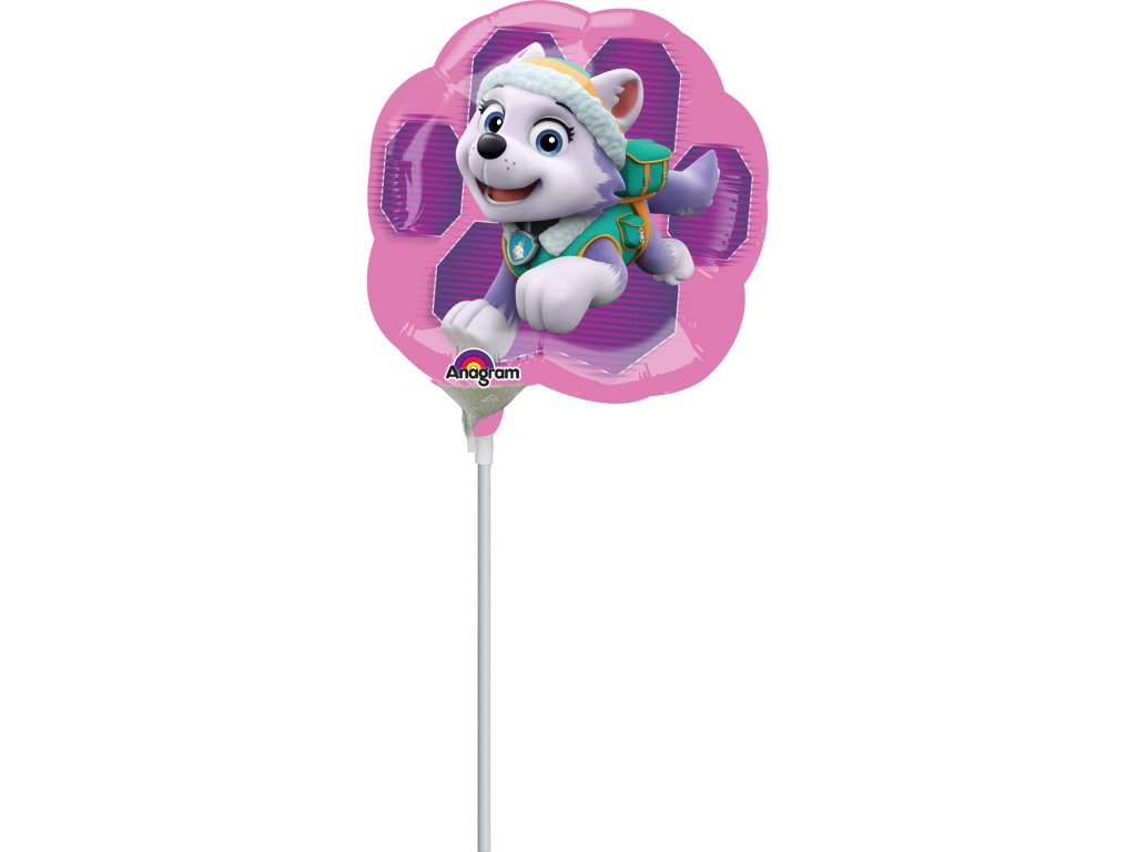 foliovy balonek Tlapkova patrola Skye Everest 25cm 3449602