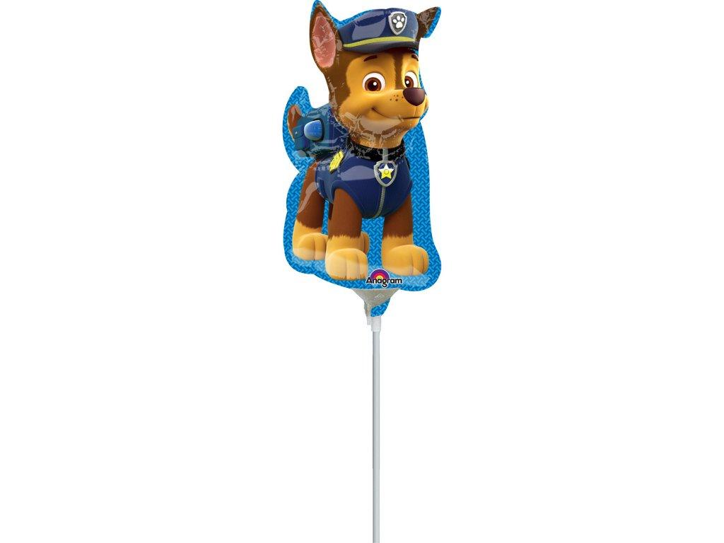 foliovy balonek Tlapkova patrola Chase mini 3449802