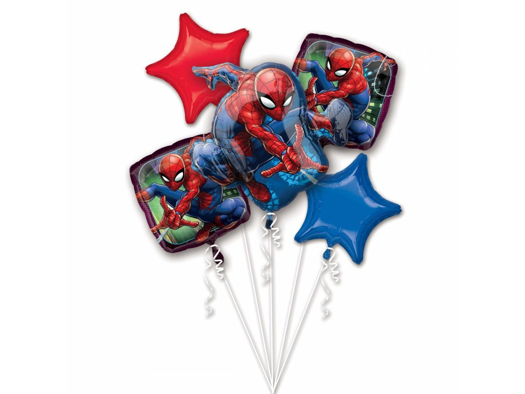 balonkovy buket spiderman 5ks 3466701