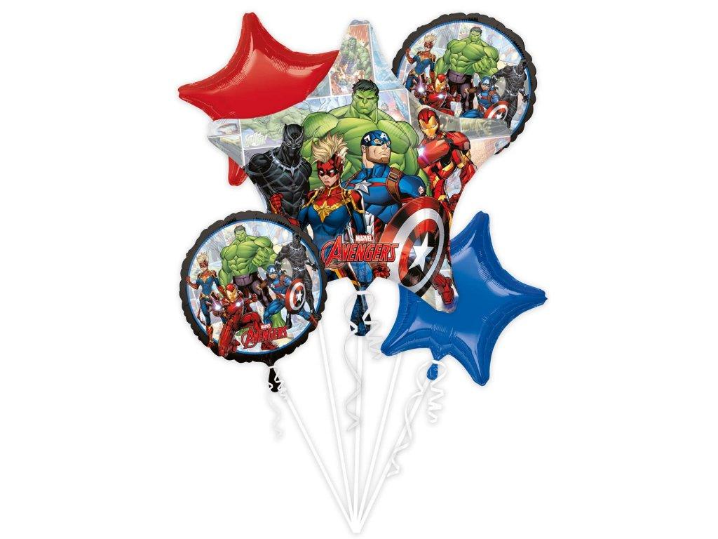 balonkovy buket Avengers 5ks 4071101