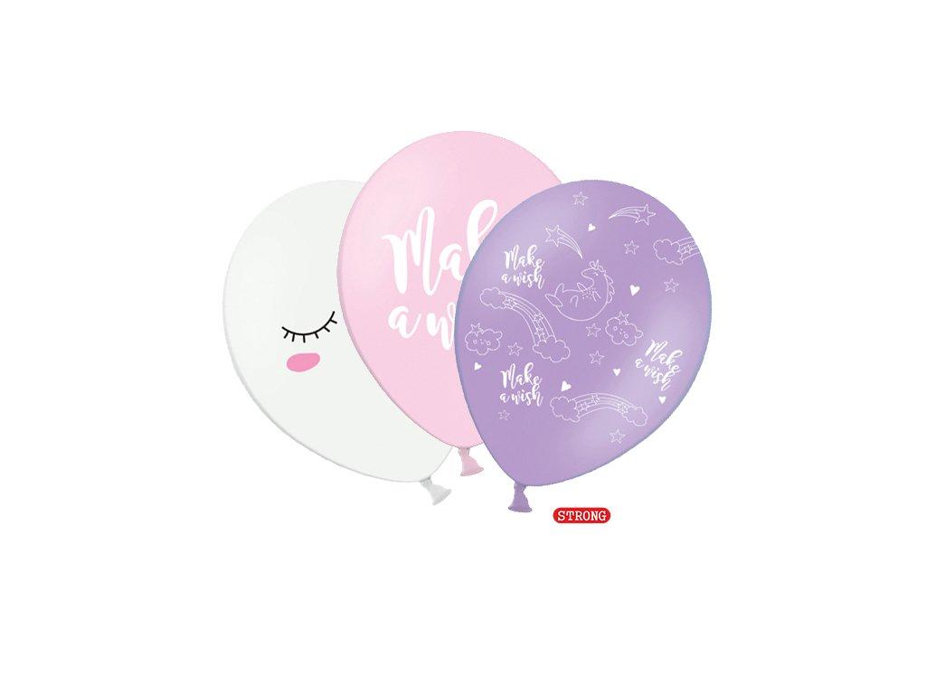 balonky jednorozec mix barev 30cm 3ks 221584 01