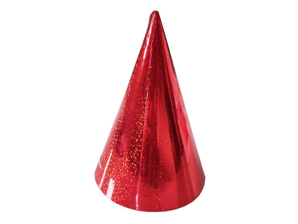 party cepicka cervena holograficka