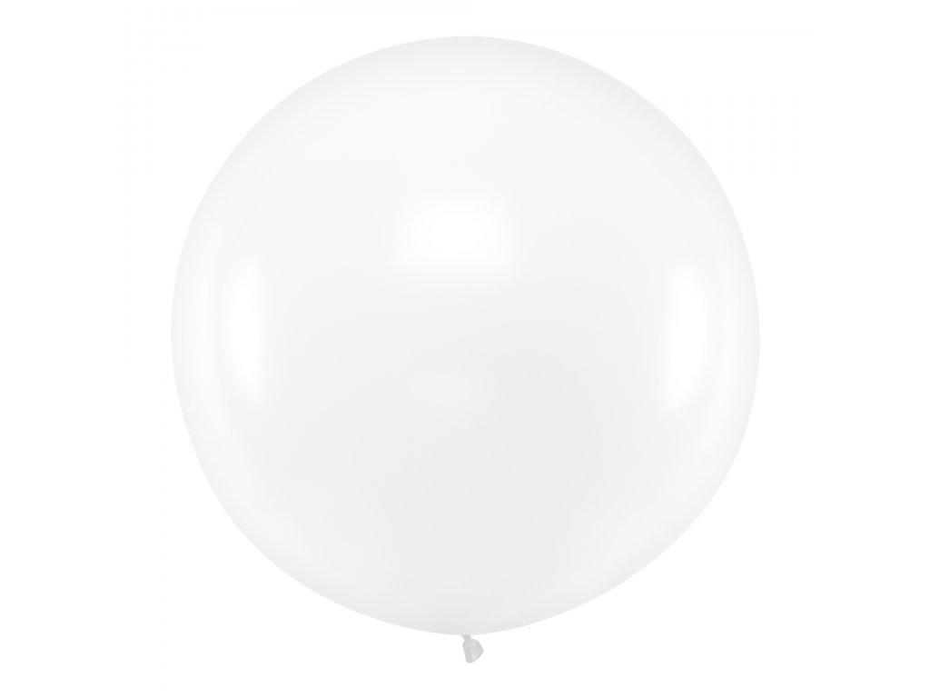obri balonek pastel pruhledny 1m OLBO 038 01