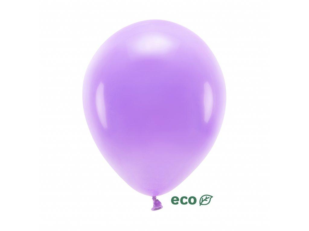 eco balonky pastel levandule 30cm 10ks ECO30P 002 10 01