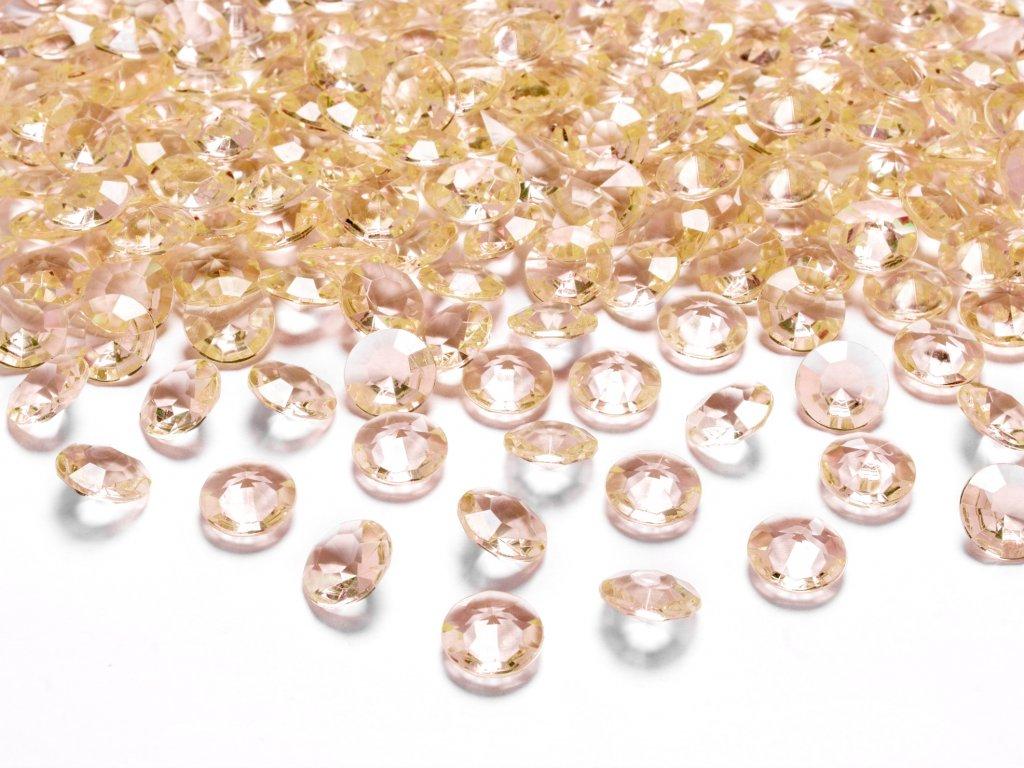 diamanty zlate 12mm 100ks ADC12 019 01