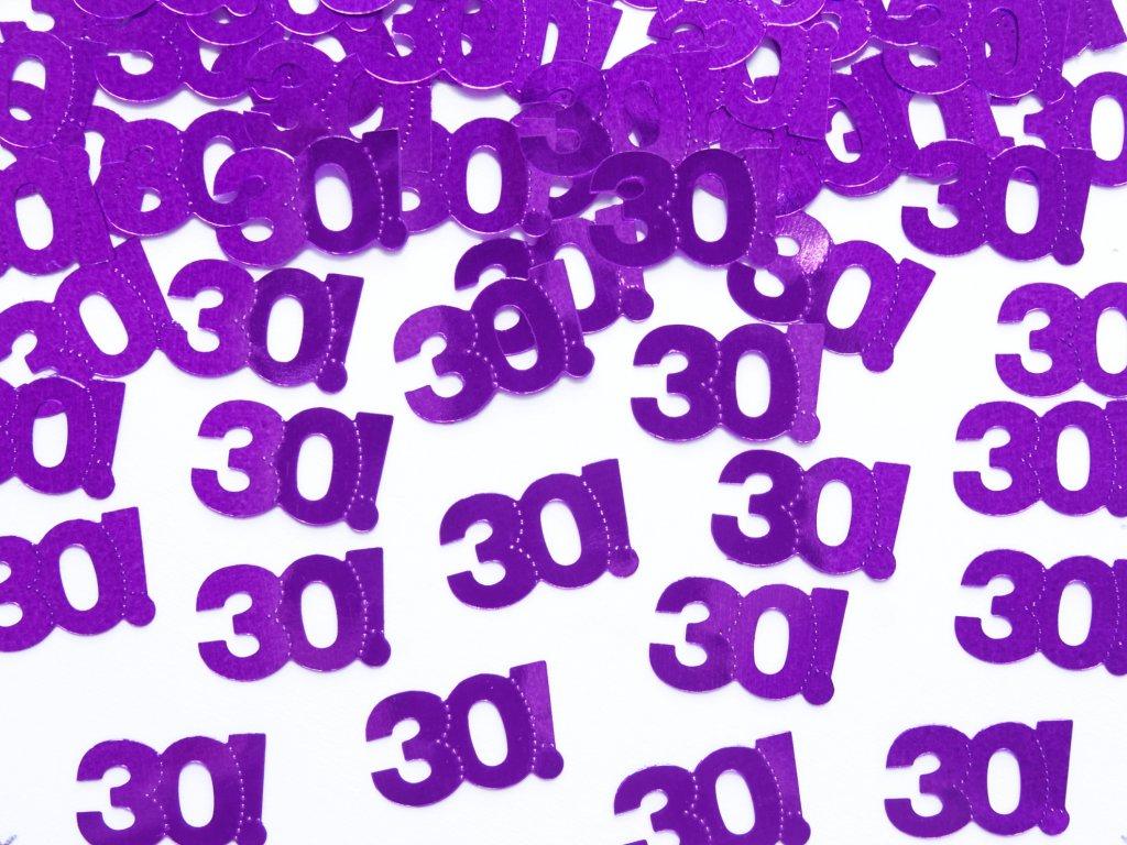 konfety 30 ka fialove 15g KONS35 30 01