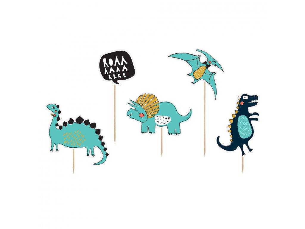 zapich dort dinosauri 10,5 20cm 5ks KPT31 01