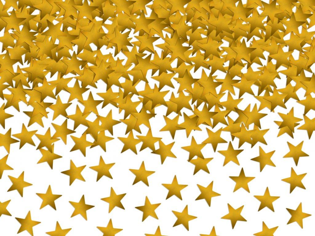 konfety hvezdy zlate 30g KONS6 01