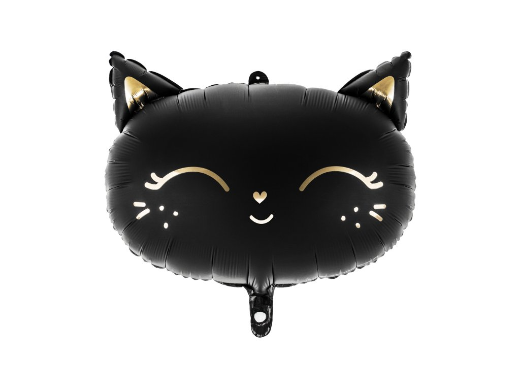 foliovy balonek cerna kocka 48x36cm FB84 01
