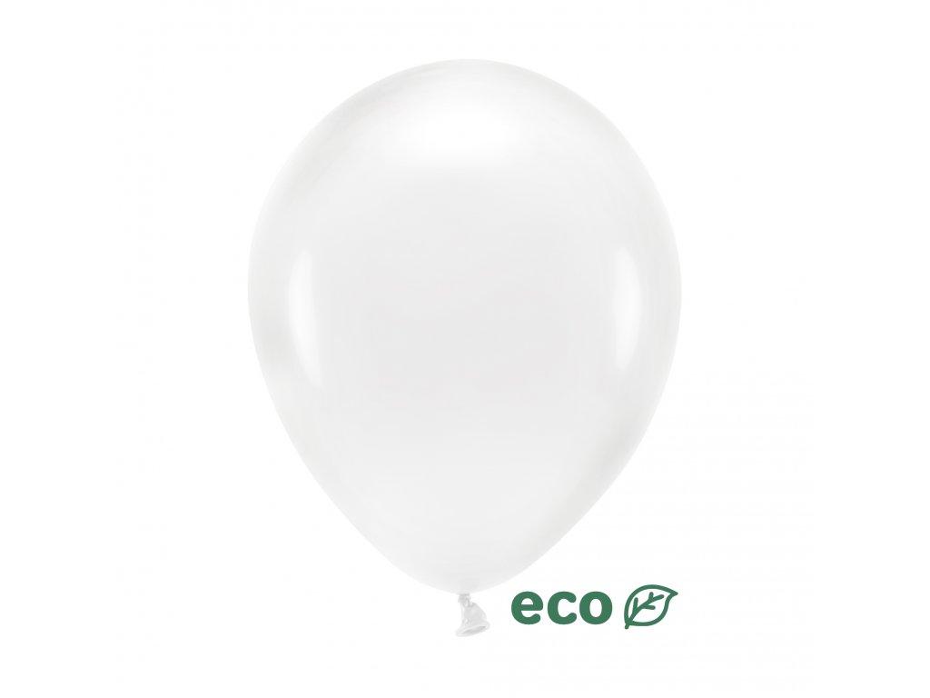 eco balonky kristalove pruhledne 26cm 10ks ECO26C 099 10 01