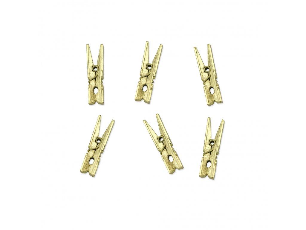 kolicky zlate 3cm 20ks KLD 019M 01