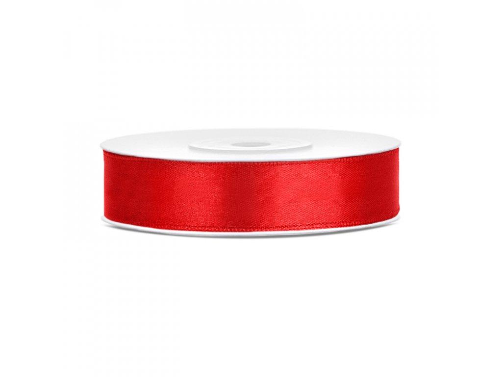 stuha saten cervena 12mmx25m TS12 007 01