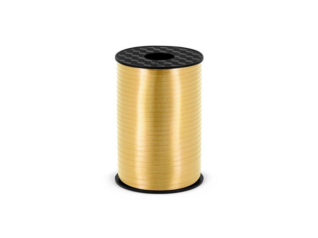 plastova stuha zlata 5mm 225m PRP5 019 01