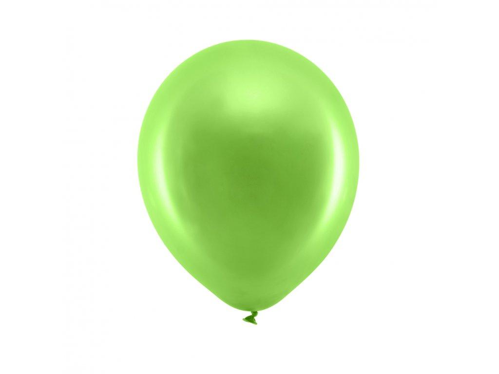 balonek metal sv zeleny 23cm RB23M 102 01