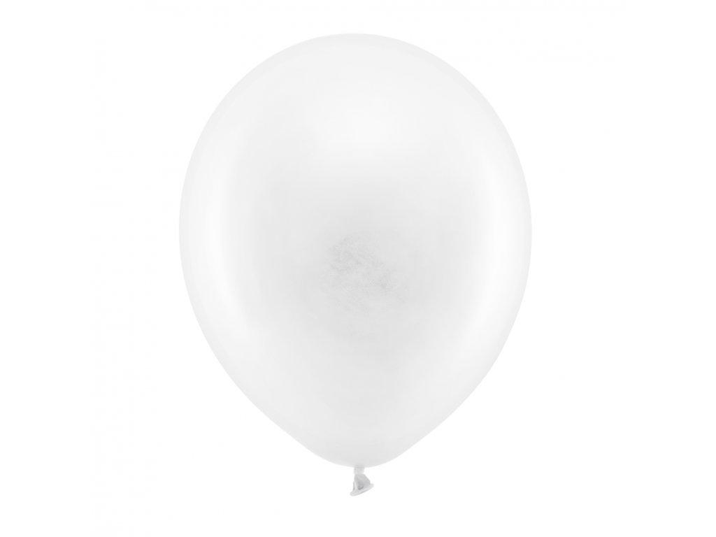 balonek pastel bily 30cm RB30P 008 01
