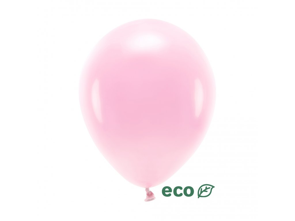 eco balonky sv ruzove 26cm 100ks ECO26P 081J 01