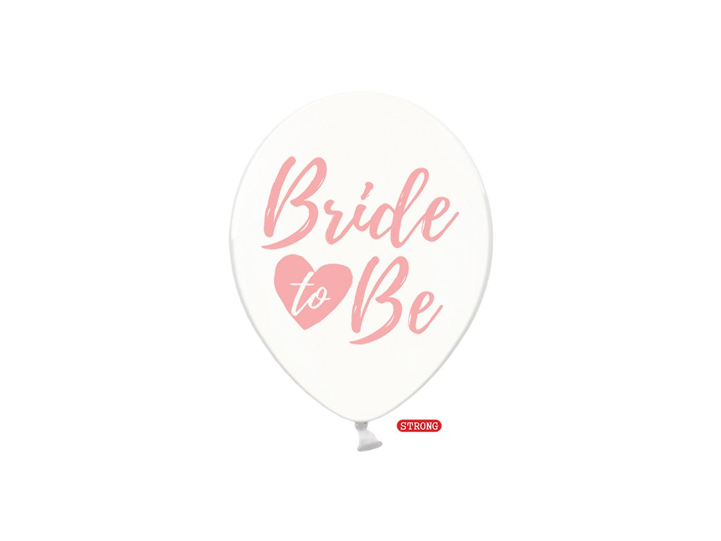 balonek ciry bride to be pastel strong 30cm SB14C 205 099P 01