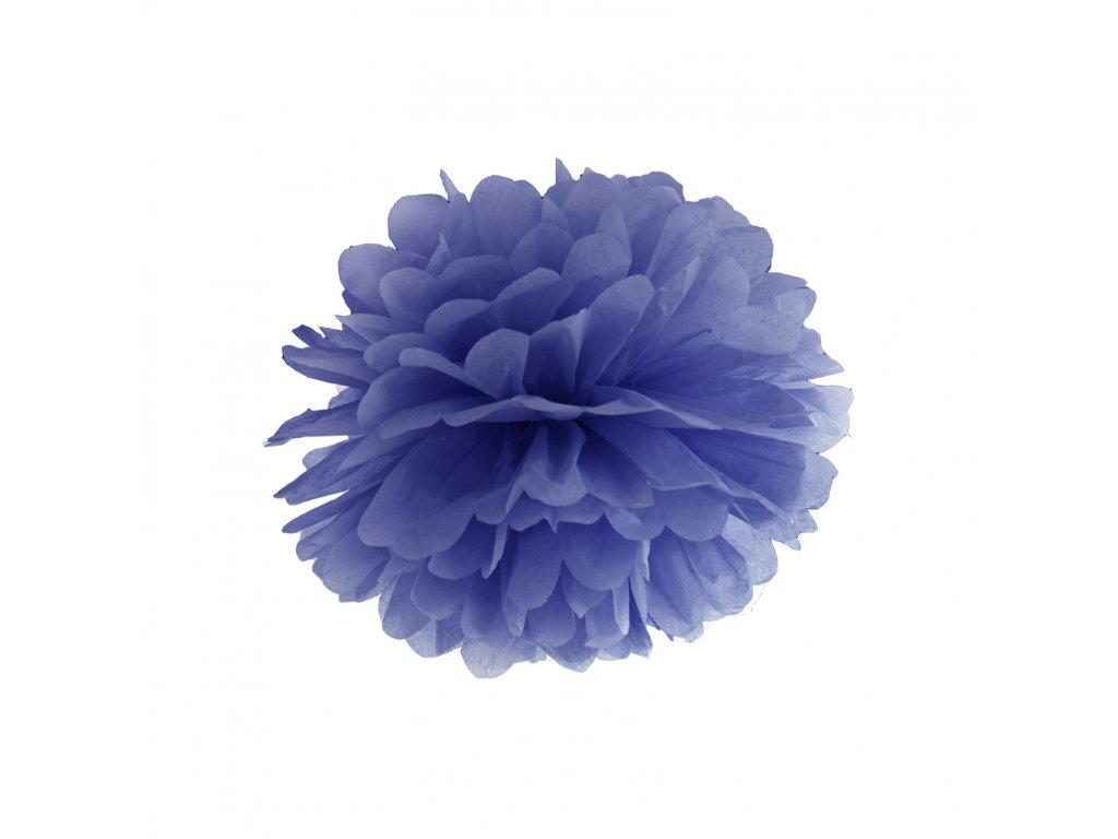 pompom namornicky modry 25cm PP25 074 01