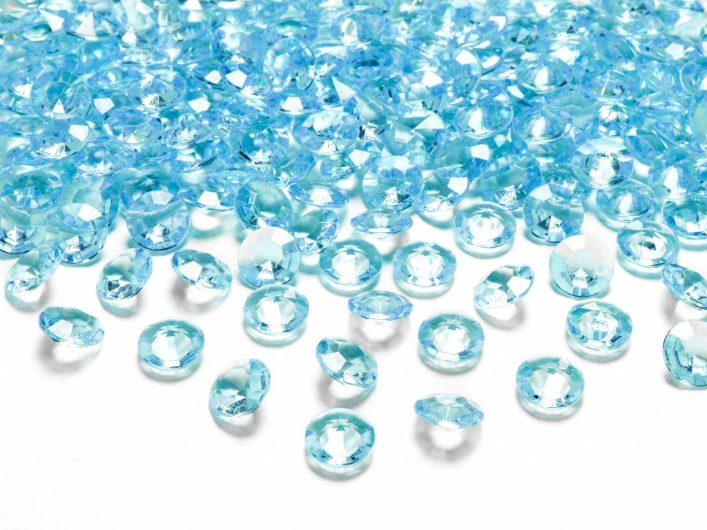 diamanty tyrkysove 12mm 100ks ADC12 083 01