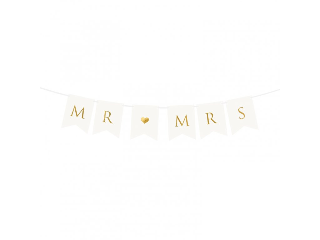 banner mr mrs 15x85cm GRL66 008 01