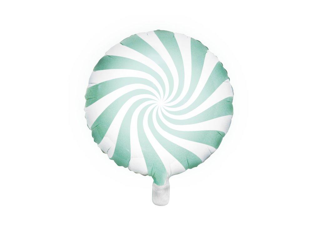 foliovy balonek bonbon mint 45cm FB20P 103 01