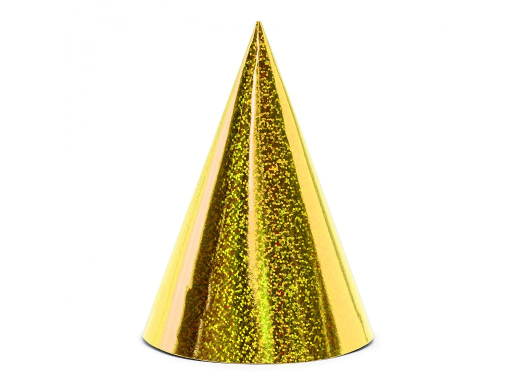 cepicka holo zlate 16cm 6ks CZAP6 019 01