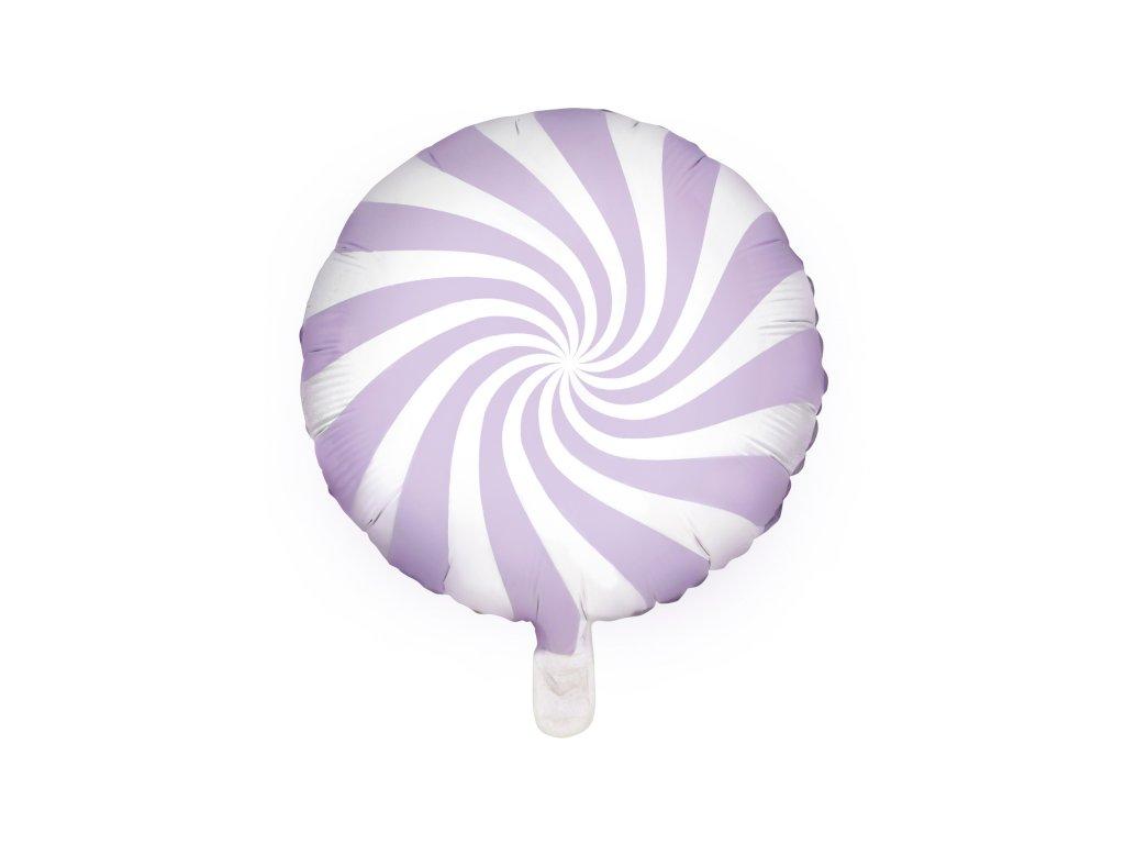 foliovy balonek bonbon sv lila 45cm FB20P 004J 01