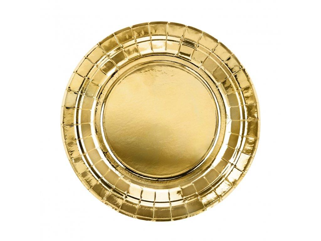 papir talir zlaty 18cm 6ks TPP57 019ME 01