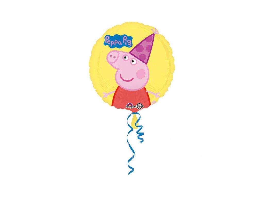 foliovy balonek Prasatko Pepa 43cm S60 3190901 01