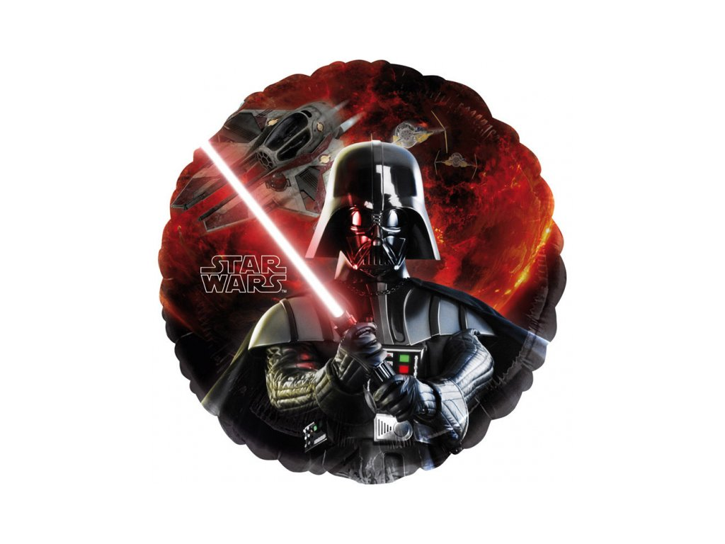 foliovy balonek StarWars Darth Vader 43cm S60 2568501 01
