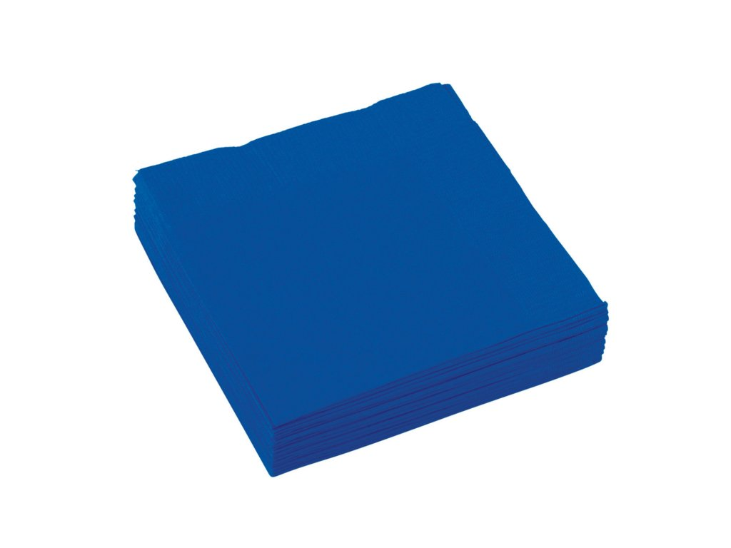 ubrousky kralovsky modre 25x25cm 20ks 50220 105 01
