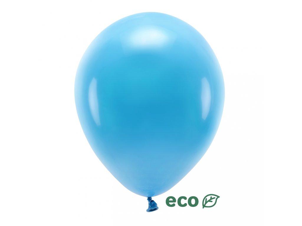 eco balonky pastel tyrkys 30cm 10ks ECO30P 083 10 01