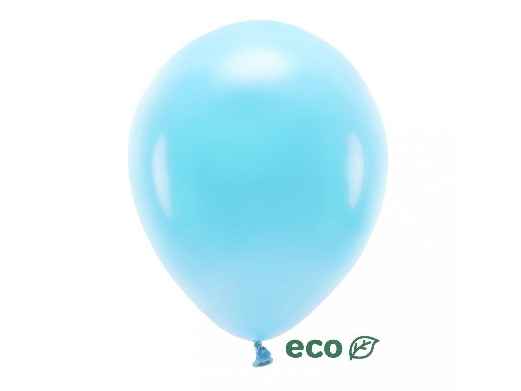 eco balonky pastel sv modry 30cm 10ks ECO30P 001J 10 01